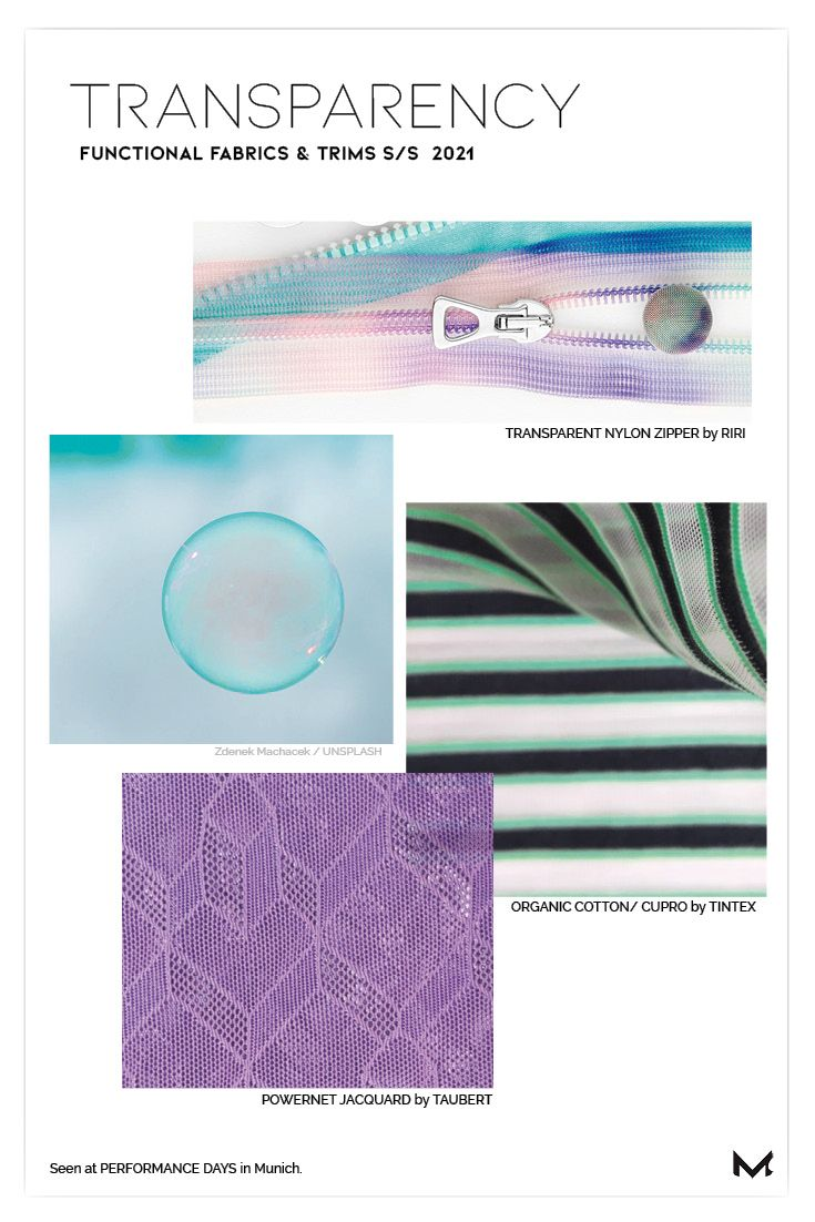 10 must know trends for functional fabrics S/S 2021 – Moject