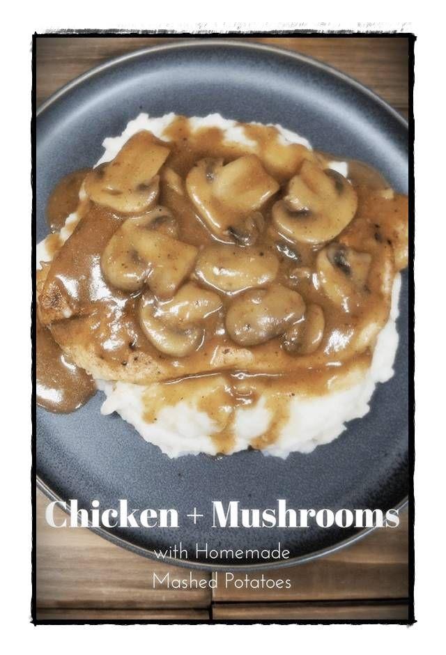 Wenn Sie für eine wunderbare hausgemachte Mahlzeit anstehen, ist dieses Hühnchen-Pilz-Abendes... Wenn Sie für eine wunderbare hausgemachte Mahlzeit anstehen, ist dieses Hühnchen-Pilz-Abendessen ...