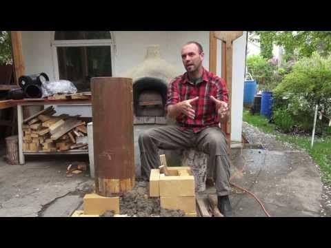 ▶ E47 Rocket Mass Heaters: A better burning wood stove - YouTube