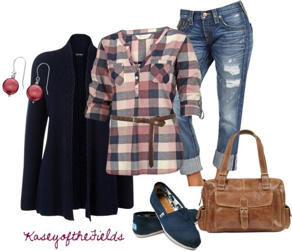 """""""Navy and Mulberry"""" by kaseyofthefields ❤ liked on Polyvore"""
