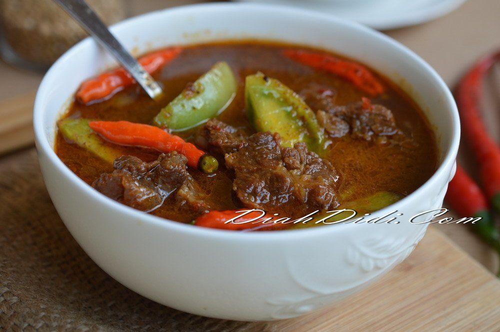 Asem Asem Daging Ala Demak Foodblogs Resep Resep Makanan Masakan