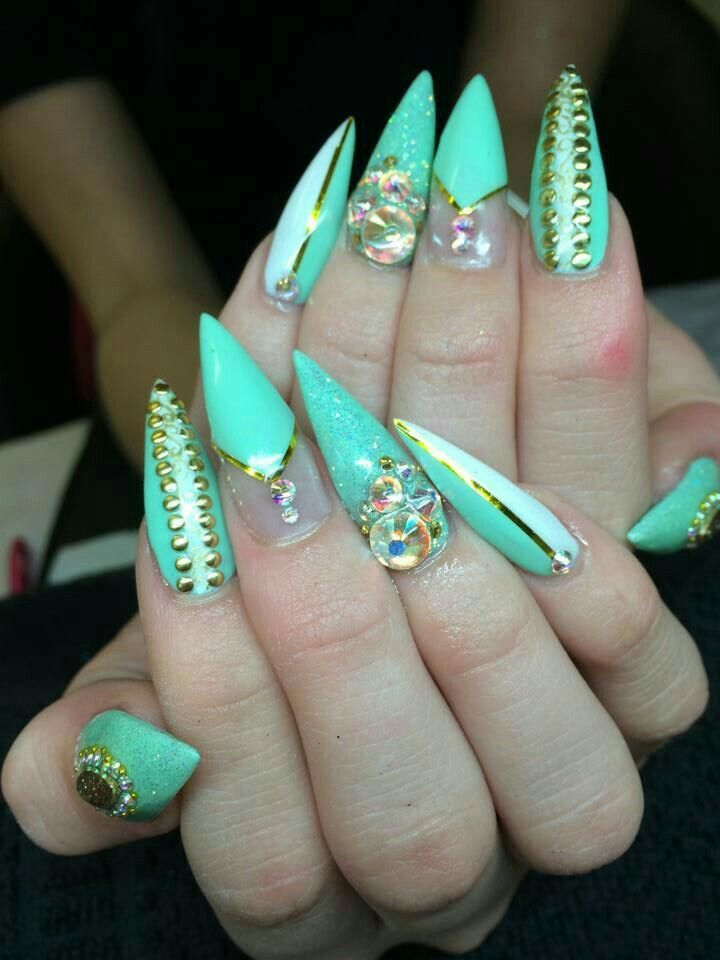 Pin by Brittany Elliott ♡ on Fabulous Nails ♡ | Pinterest | Long ...
