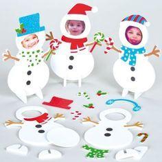 weihnachtsdeko für kinder zum basteln