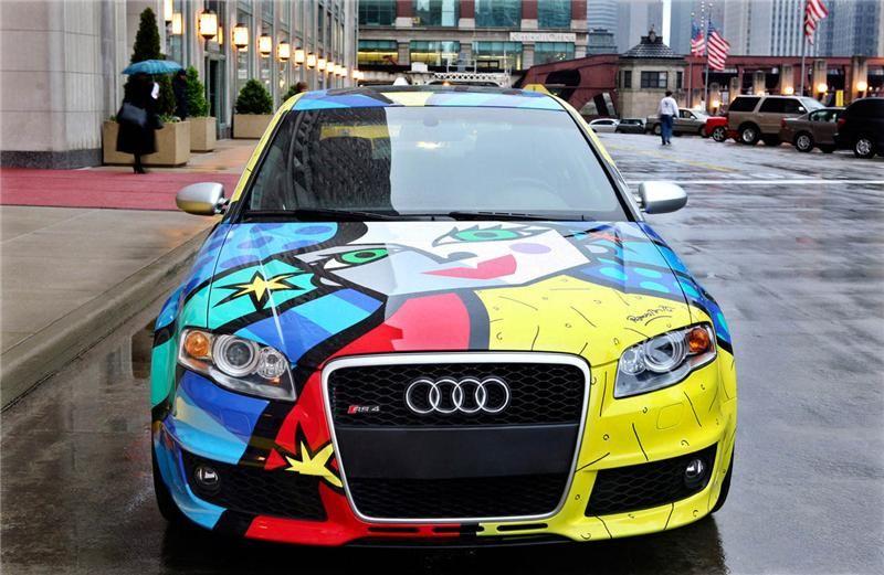 Custom Painted Audi Audi Pinterest - Audi car jobs