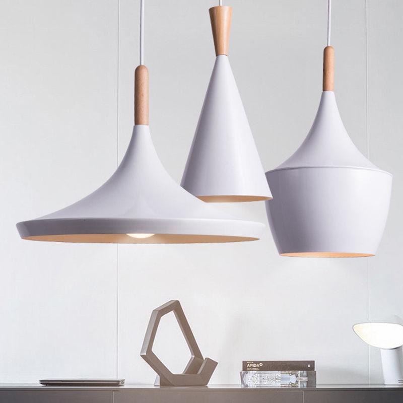 Modern Wood Metal New Ceiling Lamp Chandelier Lights Fixture