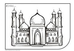 Pin By Khadija On Islamic Arts And Crafts Coloring Pages Eid Crafts Eid Activities