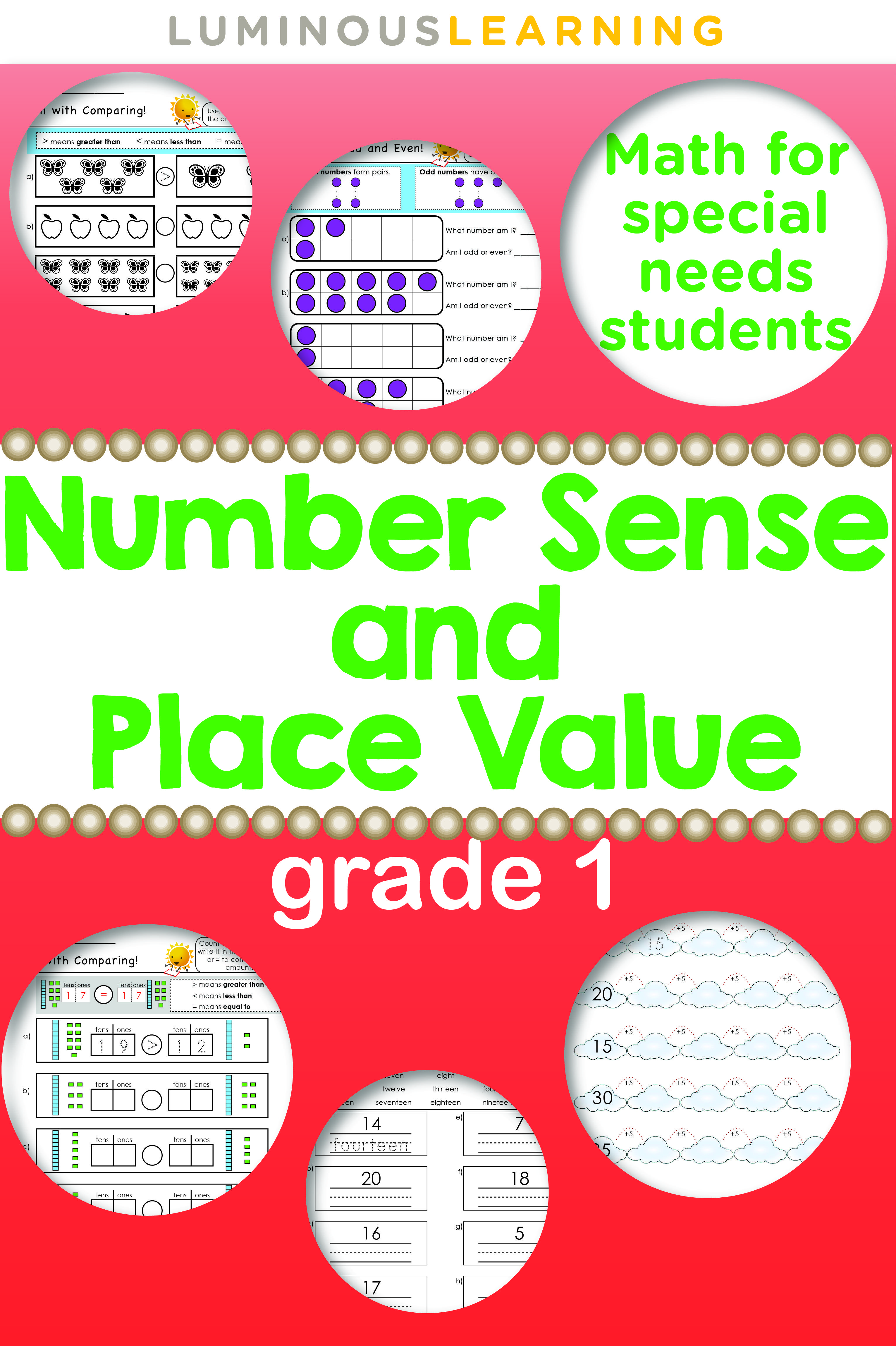 Luminous Learning Grade 1 Number Sense And Place Value