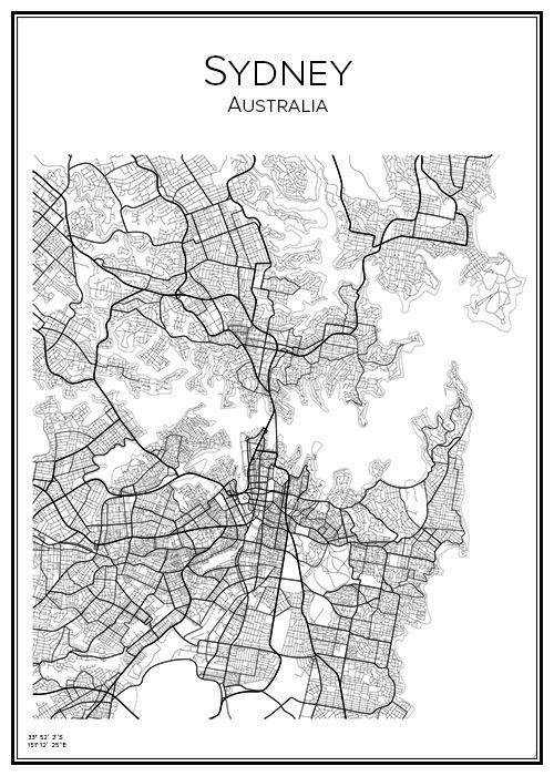 Affisch över Sydney