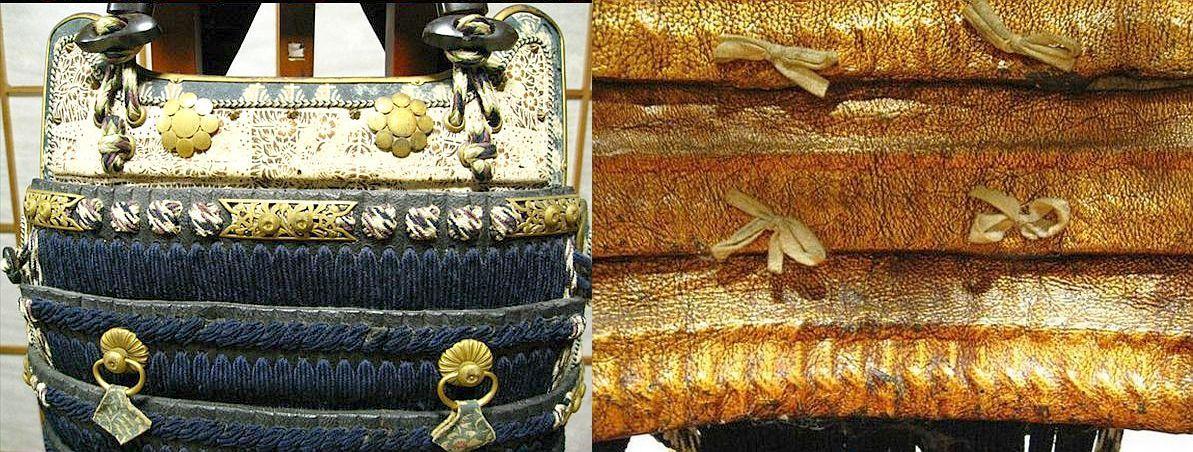 Haramaki iyozane dou, detail view.
