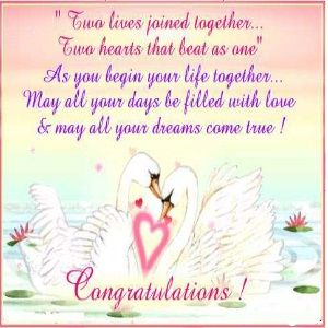 The Best Way To Write Wedding Congratulation Messages Wedding