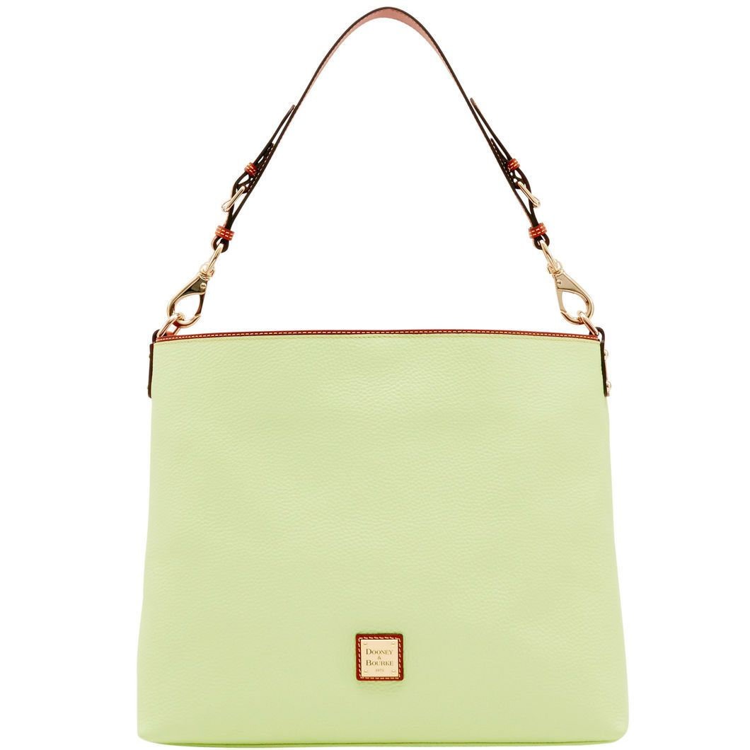 34aaccd8ac95a GORGEOUS!NEW Dooney & Bourke Key Lime Pebble Grain Leather XL ...
