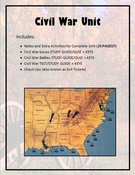 Unit 7: the civil warmac