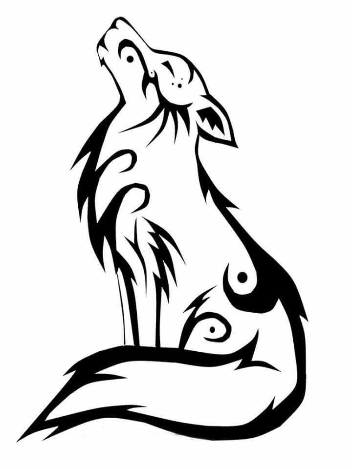 Pin de Shree Ràm en drawing | Pinterest | Tatuaje lobo, Tatuajes y ...
