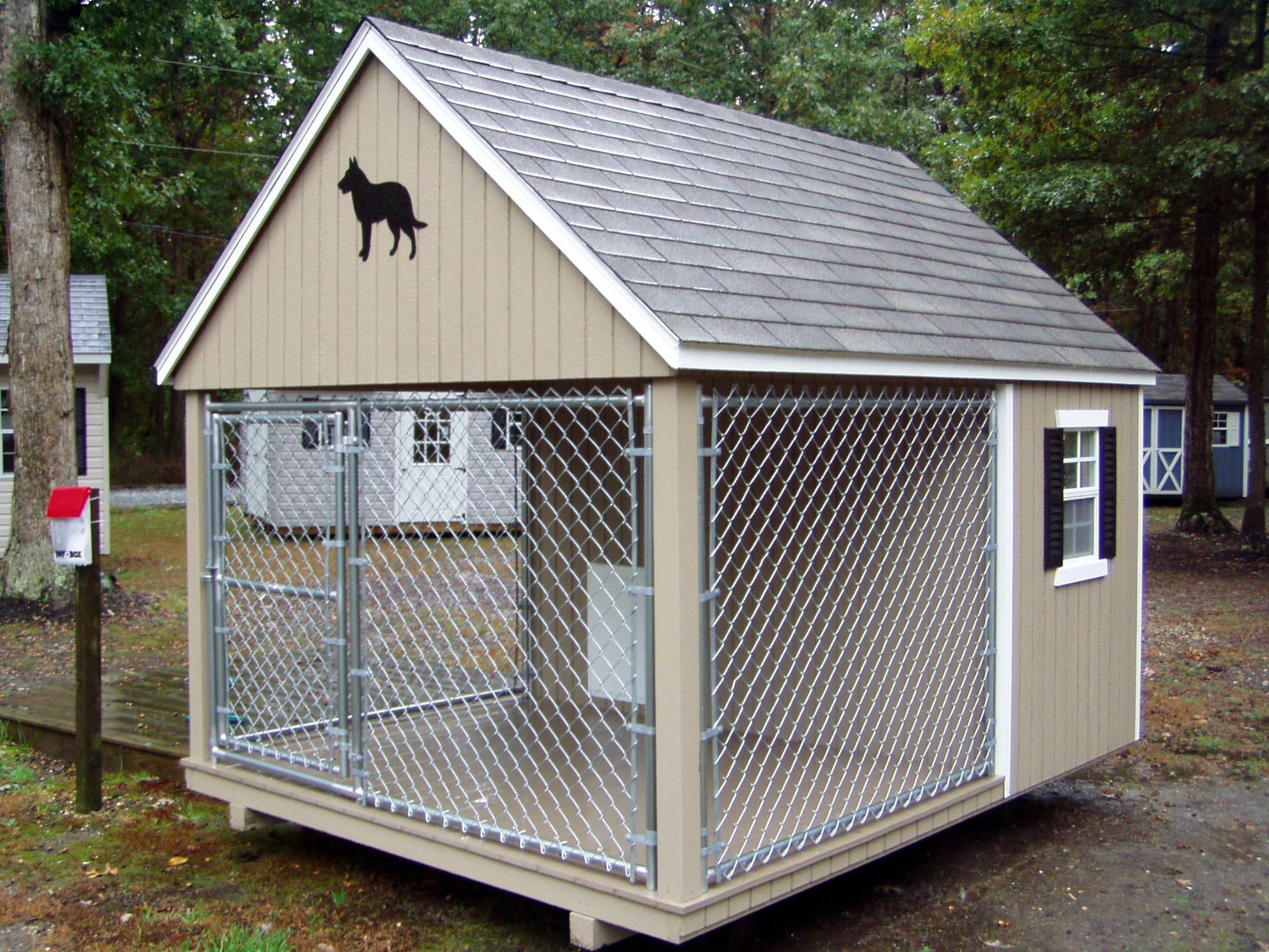 Small Room Large Roof Covering Minus The Fence Taller
