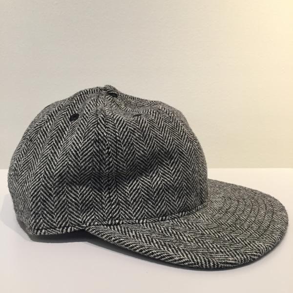 Herringbone Tweed Ball Cap