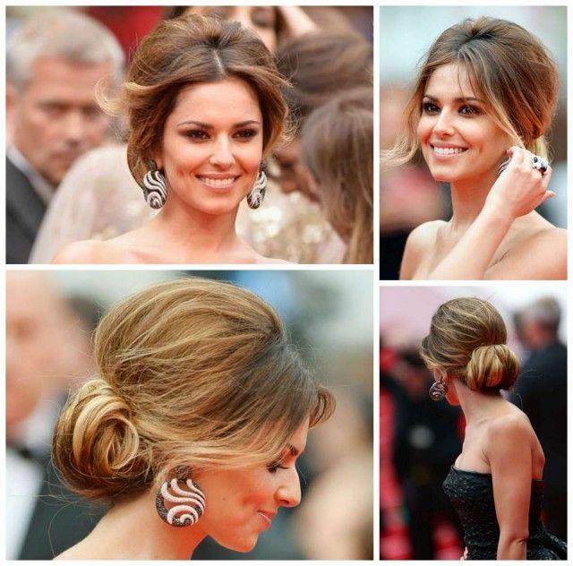 Cheryl Cole Wedding Hairstyle: Hair Upstyles, Long Hair