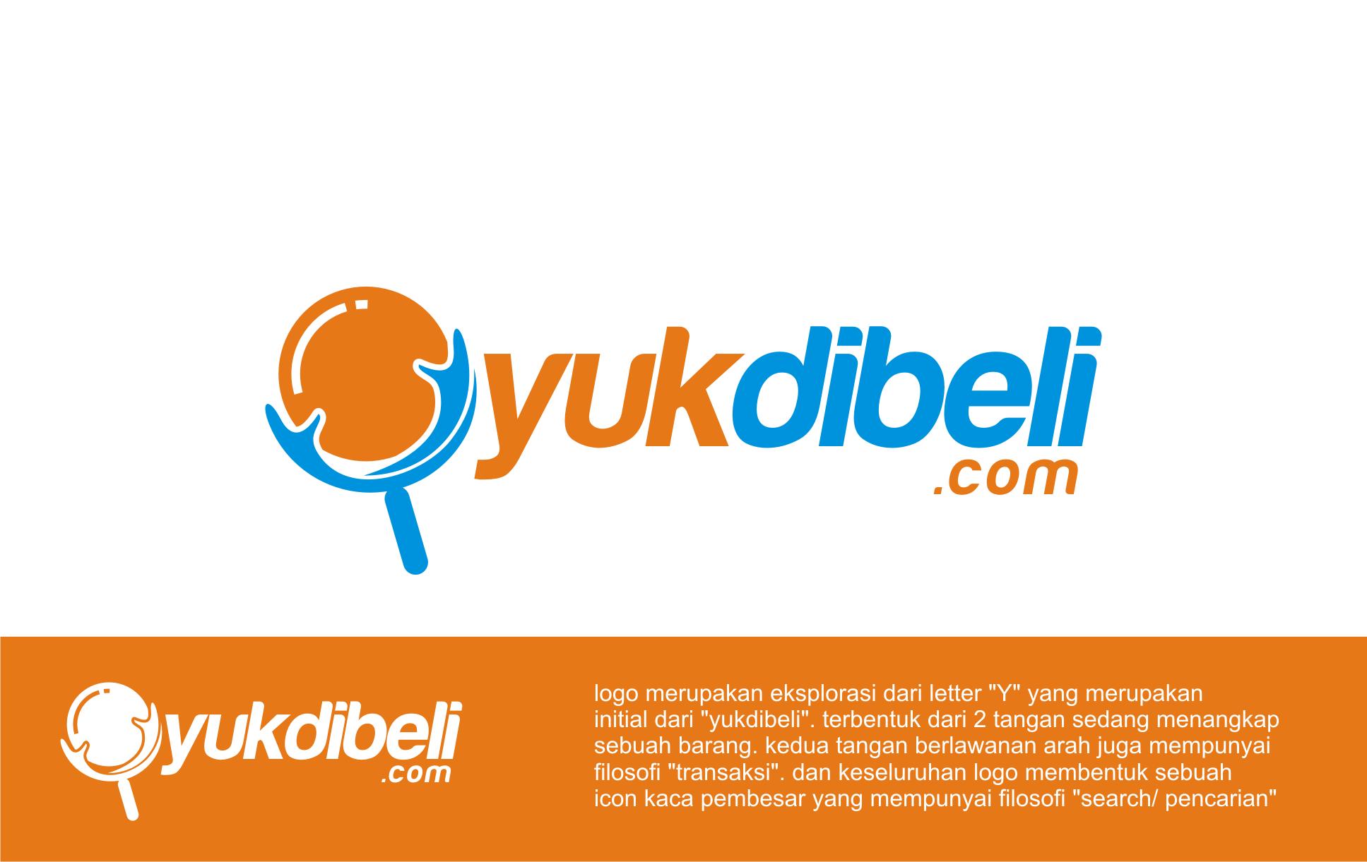Logo Toko Online Yuk di Beli by Desain logo