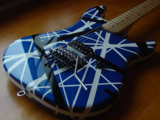 Evh Blue Need To See The Headstock To See What S Going On Here Famous Guitars Cool Guitar Bass Guitar