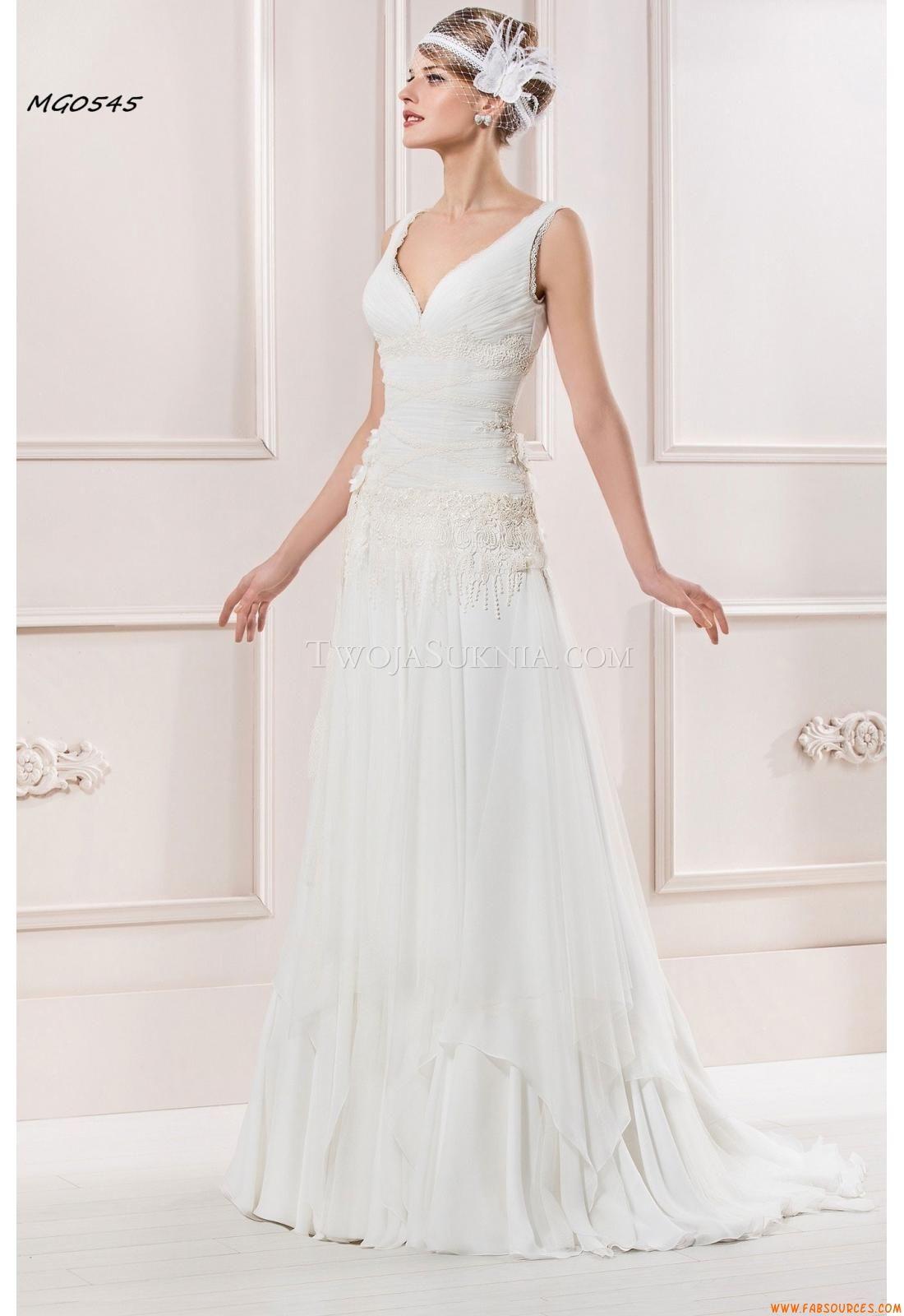Robes de mariée manu garcía mg robe de mariage