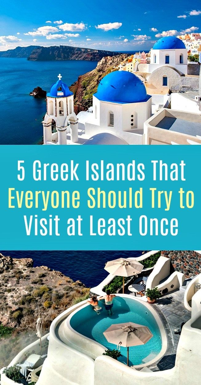 Greek Islands: That Everyone Should Try to Visit at Least Once