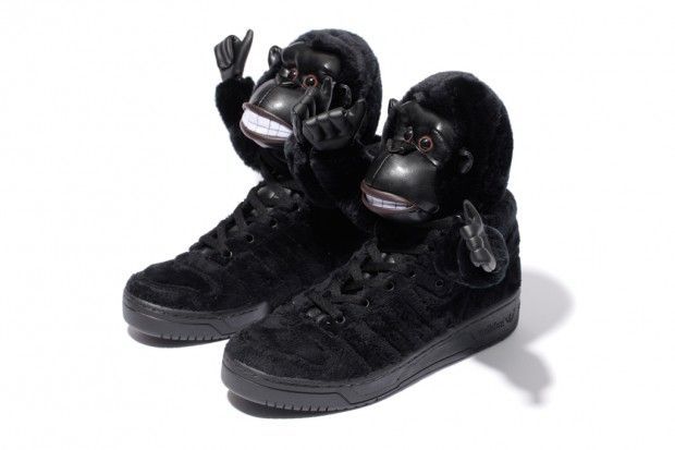 546a768a42e5 nothing beats jeremy scott when it comes to designing furry gorilla shoes