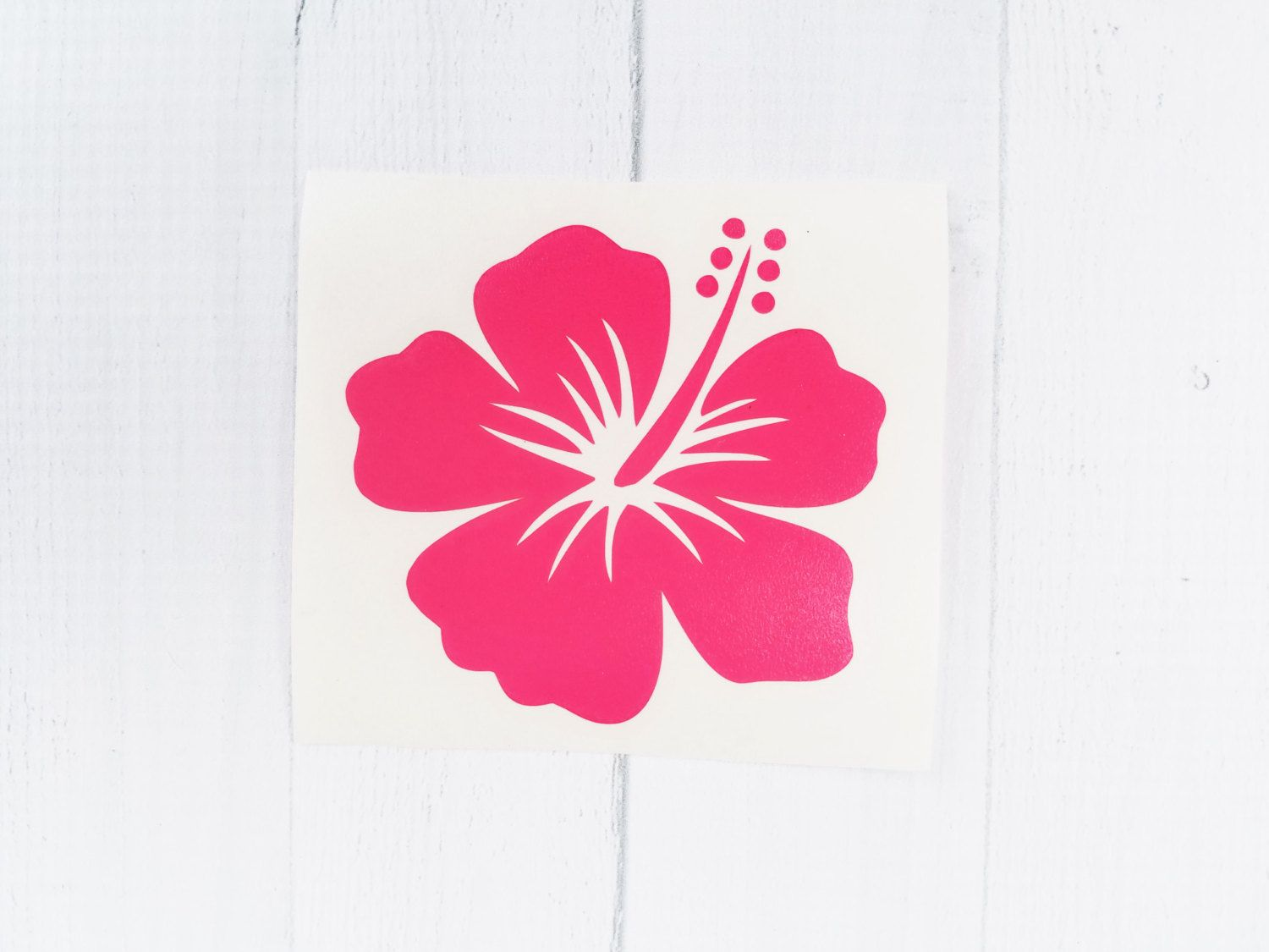 Excited To Share This Item From My Etsy Shop Hibiscus Flower Decal Hibiscus Flower Car Decal Vinyl Ca Custom Decal Stickers Hibiscus Flowers Car Decals Vinyl [ 1159 x 1500 Pixel ]
