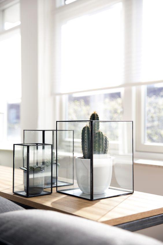 Glazen-box-industriele-decoratie-industrieel-interieur | I\'d love to ...