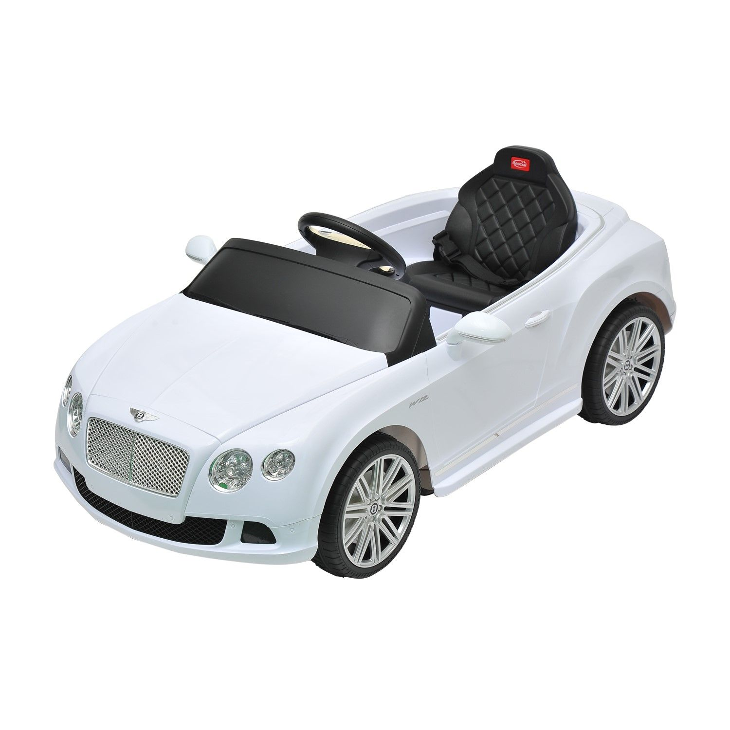 Bentley GTC Kids 6v Electric Ride On Toy Car W/ Parent
