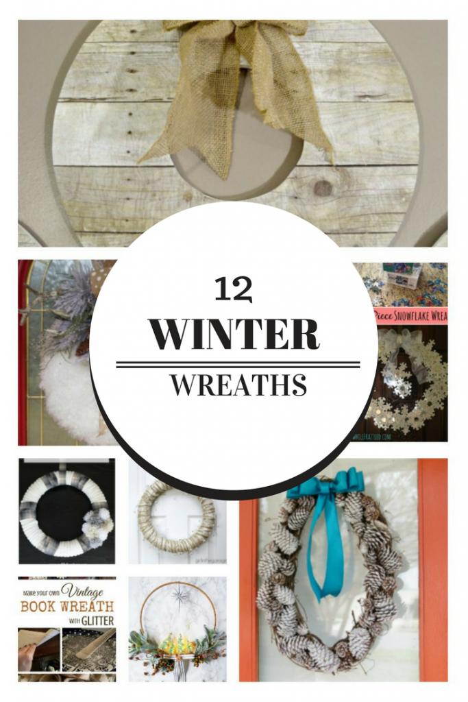 Photo of 12 Beautiful DIY Winter Wreaths Our Crafty Mom Wreath Ideas