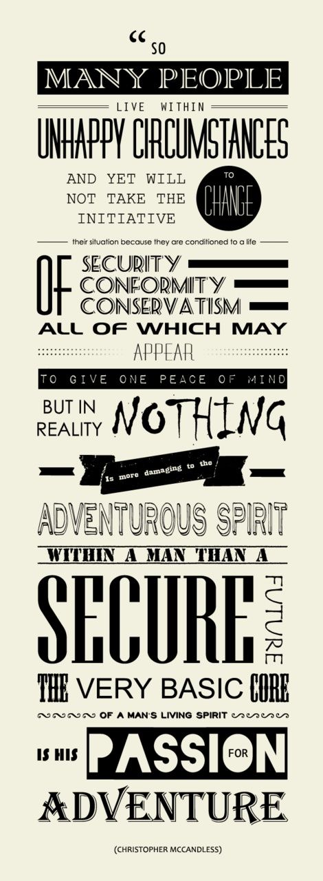 Into the Wild - Christopher 'supertramp' McCandless