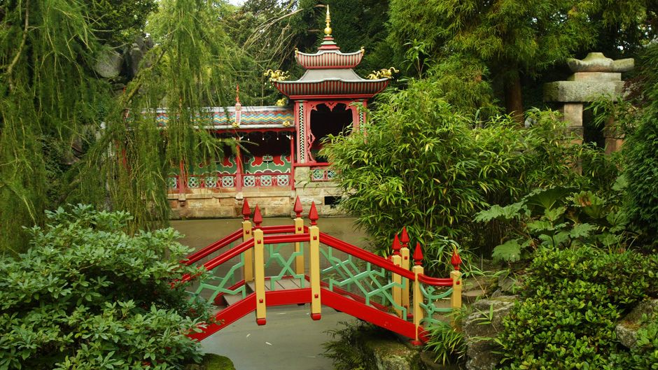 Sky Arts Sky art, Chinese garden, Garden