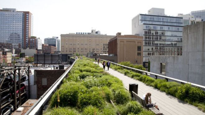 The High Line, amazing park and FREE!