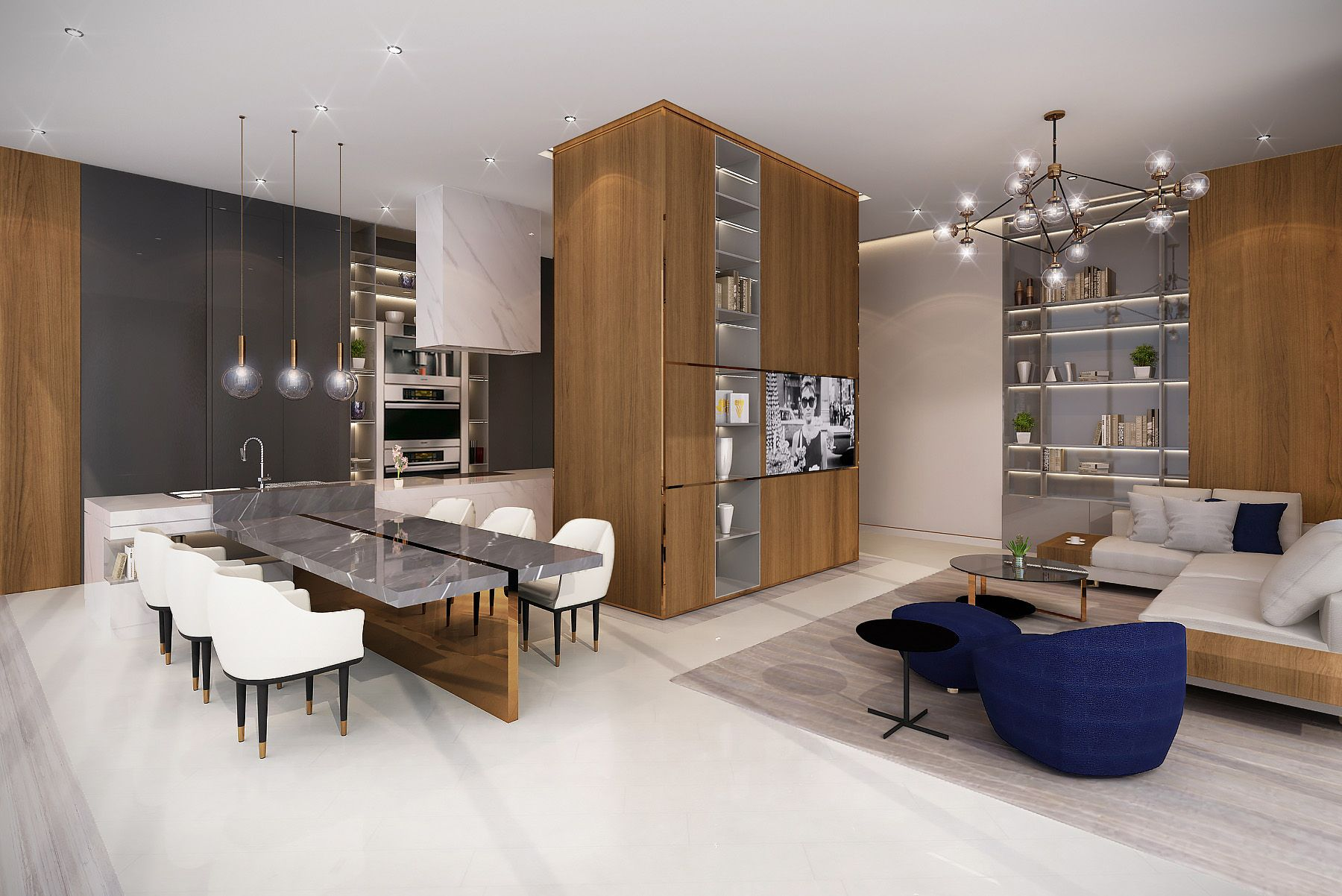 Swiss Bureau Interior Design Al Habtoor Penthouses Dubai UAE