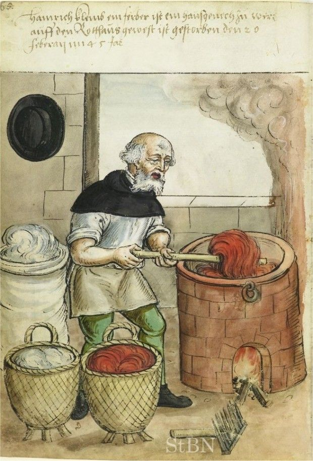 Retronaut   1500s: Crafts And Trades, Germany