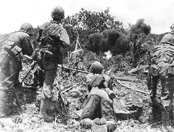Banzai at the Battle of Saipan   Battle of saipan, Saipan, War veterans