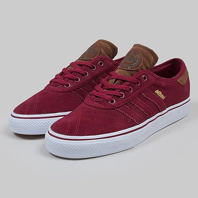 more photos 95412 76361 New adidas skateboarding x official adi-ease premiere adv shoes burgundy  red