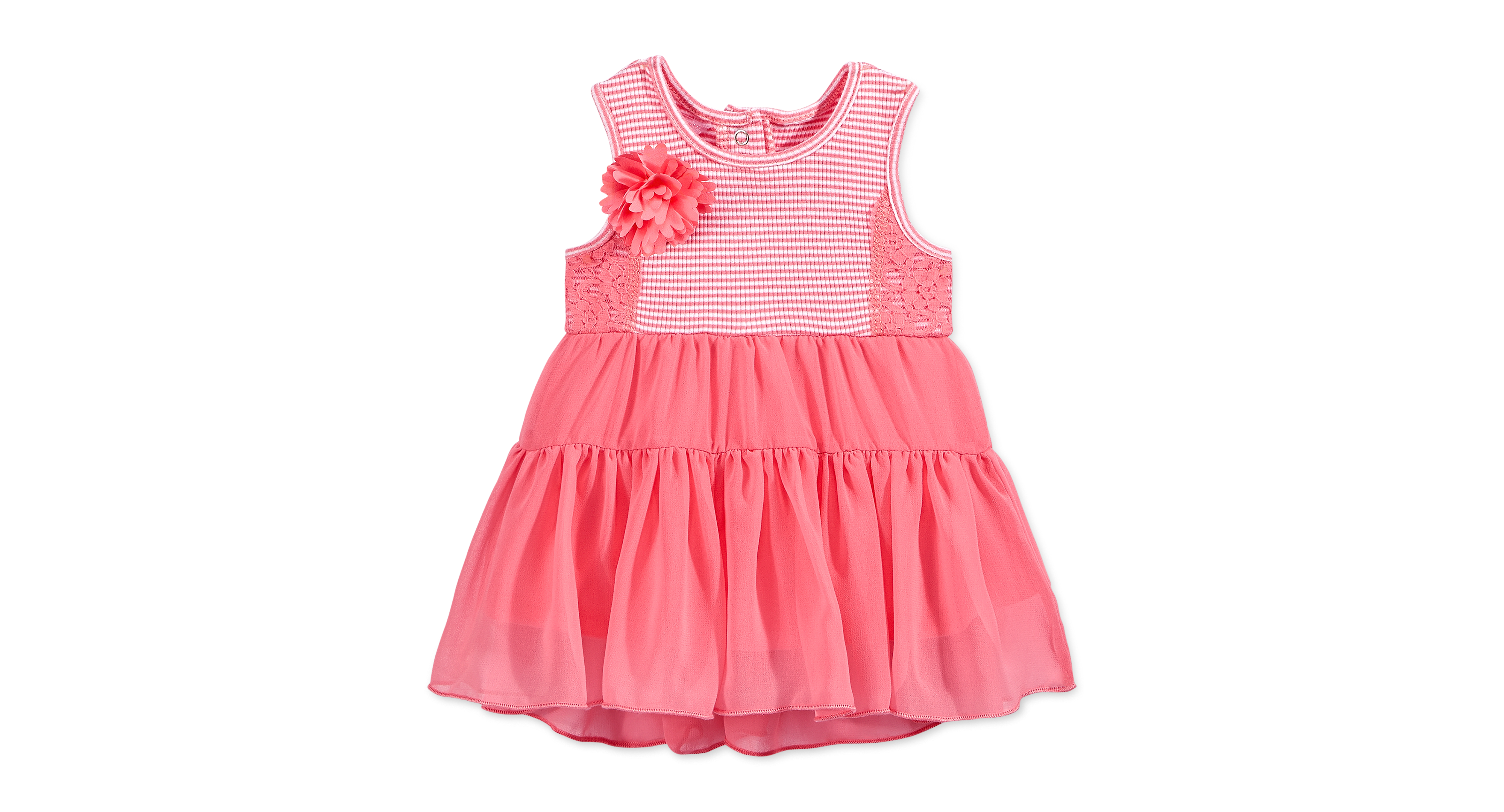 Guess Baby Girls Tiered Chiffon Dress Products