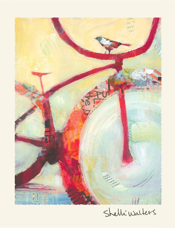 Bicycle Greeting Cards van ShelliWalters op Etsy