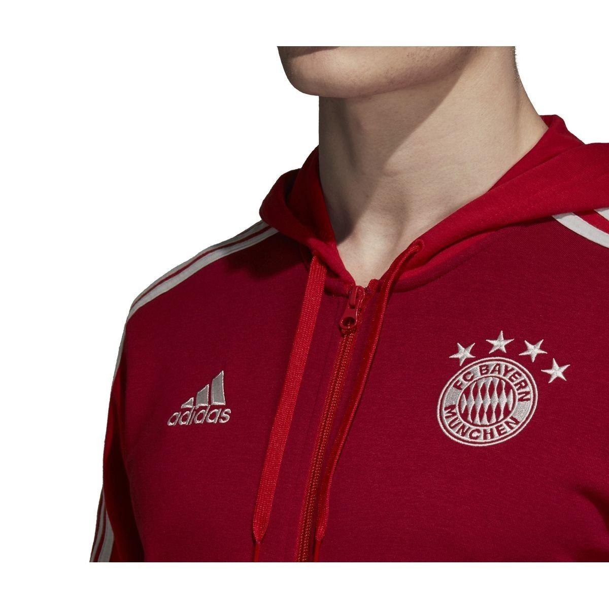 Veste à capuche Bayern Munich 3 stripes   Adidas, Veste a
