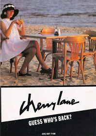 Glossy Sheen: Cherry Lane Advertisements