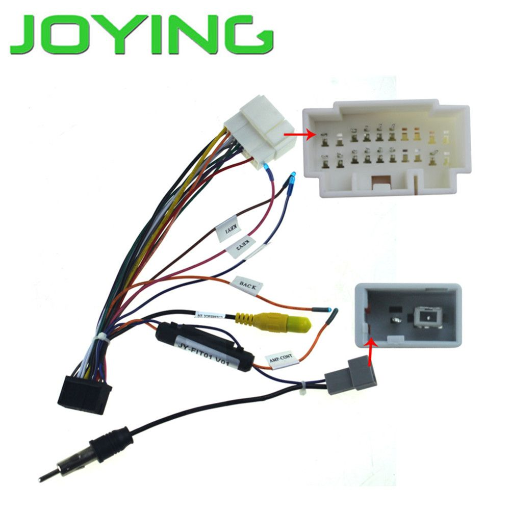 Harness Wiring Cable for Honda Jazz Accord only for Joying