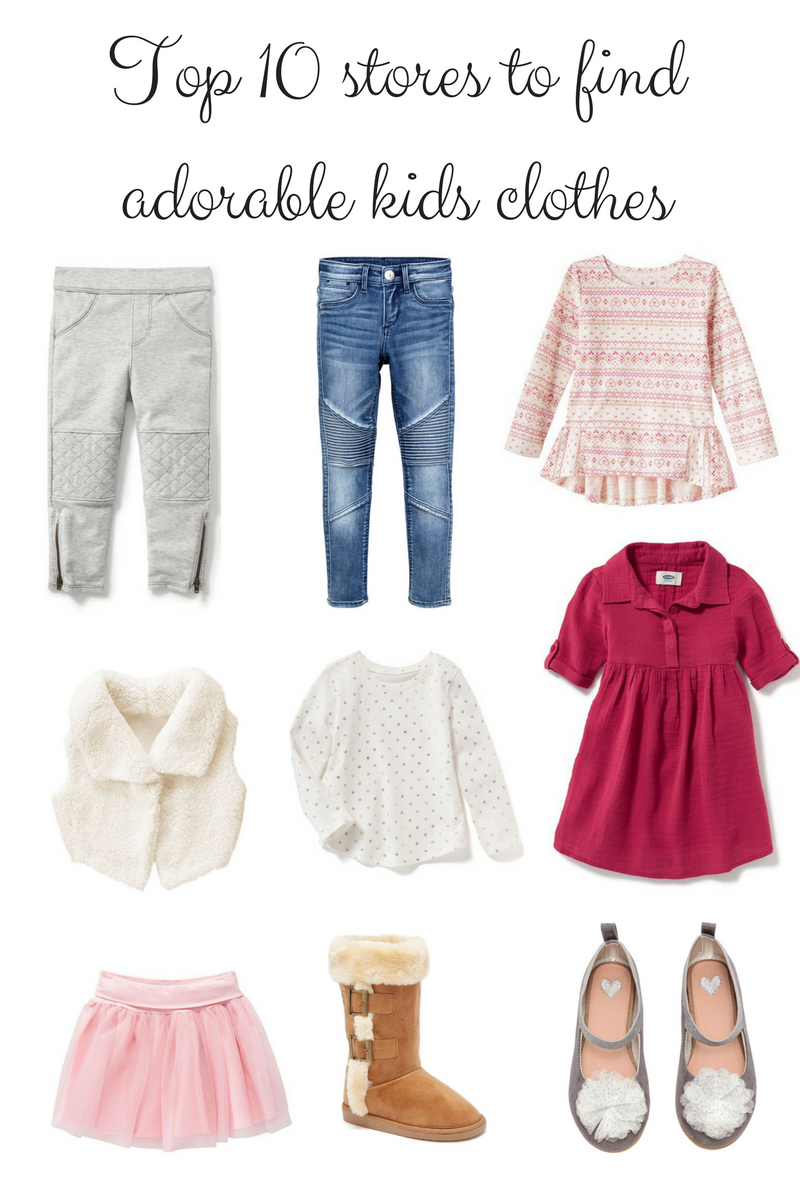 f603c59ca0 Not sure where to shop for your little one? Click here and find out my top  10 places to buy kids clothes!