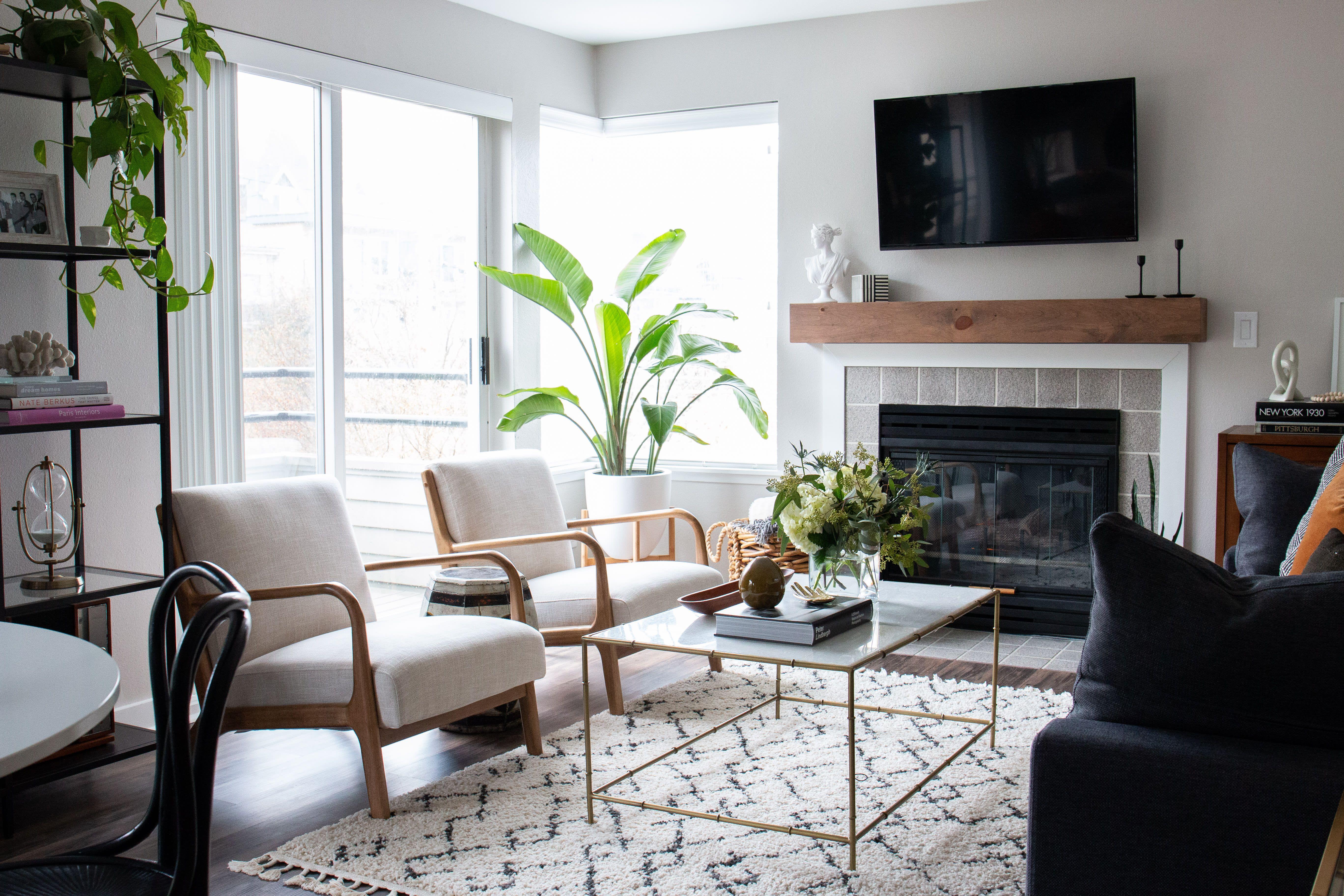 See This Photographer S Total Apartment Decor Overhaul Bedroom Furniture Design Living Decor Geometric Furniture Design