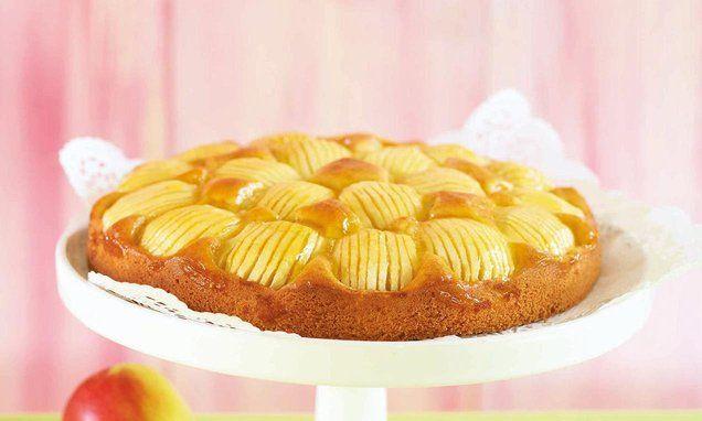 Apfelkuchen Sehr Fein Rezept Mit Bildern Apfelkuchen Apfelkuchen Sehr Fein Kuchen
