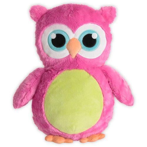 Baby Bloom Owl Plush Pillow @ walmart
