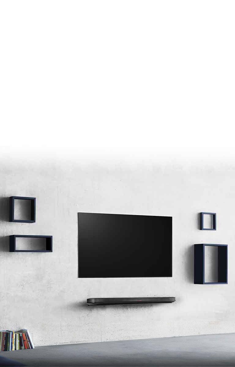 LG SIGNATURE OLED TV W - 4K HDR Smart TV - 65'' Class (64 5