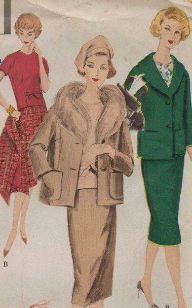 Vintage 50s Vogue Special Design Pattern 4027 by CloesCloset, $50.00 ...