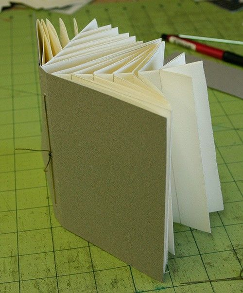 Fishbone Folding Technique ✴ http://www.greenchairpress.com/blog/index.php?p=3093