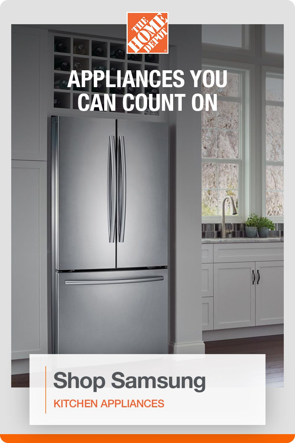 Keep Your Home Running With Special Buys On Your Favorite Appliances From The Home Depot In 2020 Samsung Kitchen Appliances Samsung Kitchen Diy Kitchen Decor