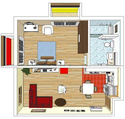 3 Arquitetura CASA IDEAL PARA O IDOSO Planos de casas pequeñas